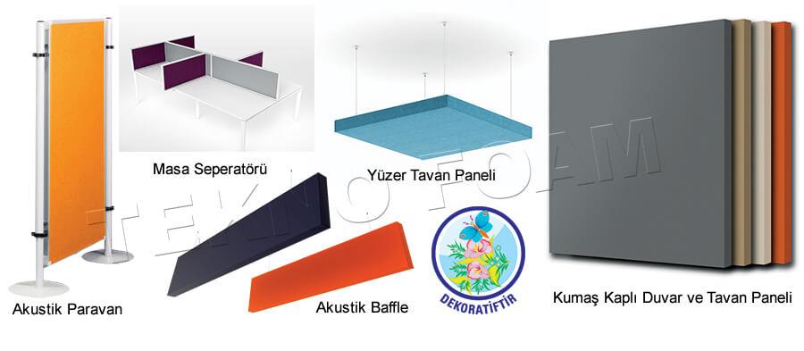 Ses Yalıtımı Ankara Akustik Kumaş Panel Kaplama Fiyatları