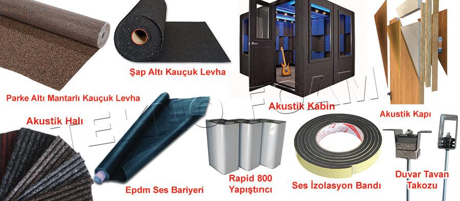 Ses Yalıtımı Ankara İzolasyon Malzemeleri Fiyatları